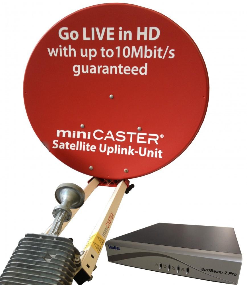 Satellite-Uplink Base Unit 10 Mbit/s Modem