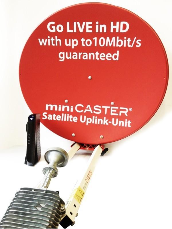 Satellite-Uplink Base Unit 6 Mbit/s Modem