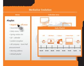 MediaStar Evolution 467 Media Manager