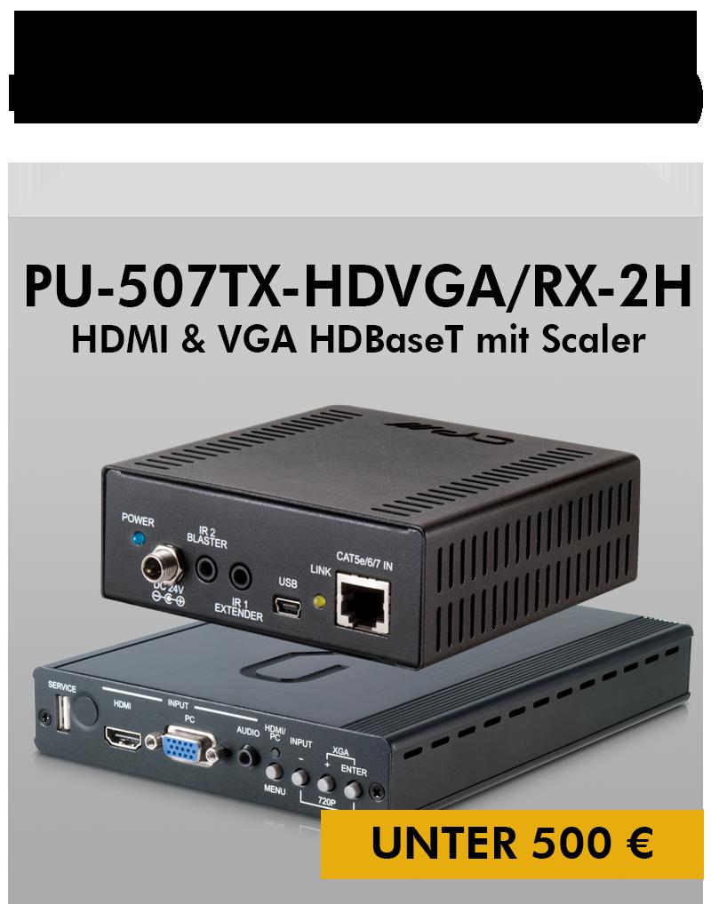 Bundle PU-507TX-HDVGA/RX-2H