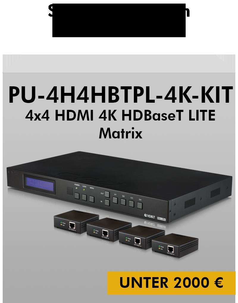 Bundle PU-4H4HBTPL-4K-KIT