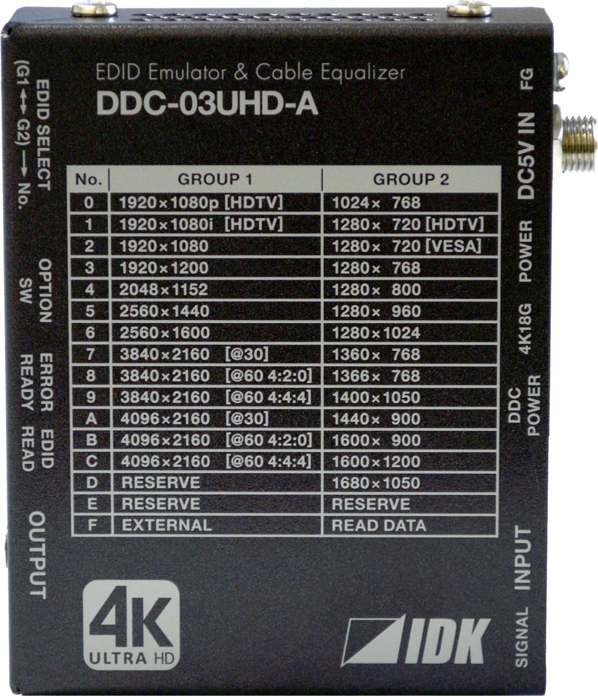 DDC-03UHD