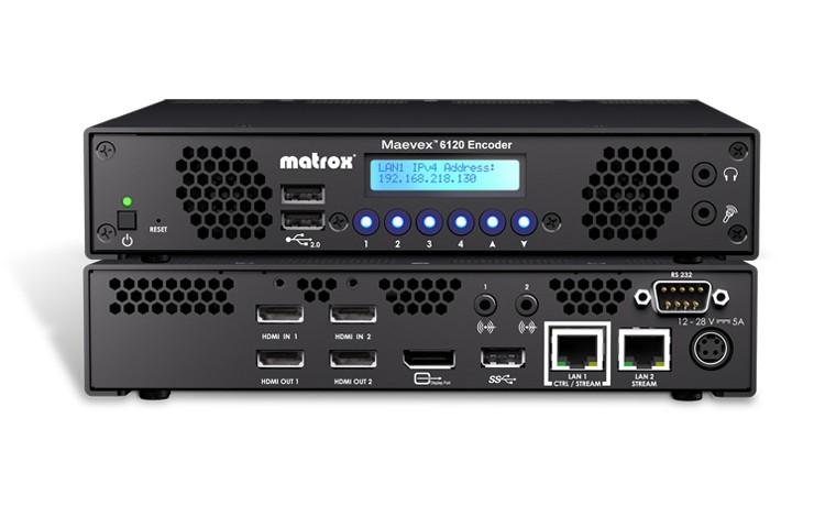 Maevex 6120 Dual 4K Enterprise Encoder