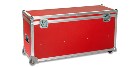 Flight Case for Satellite-Uplink Fly-away Unit autopointing