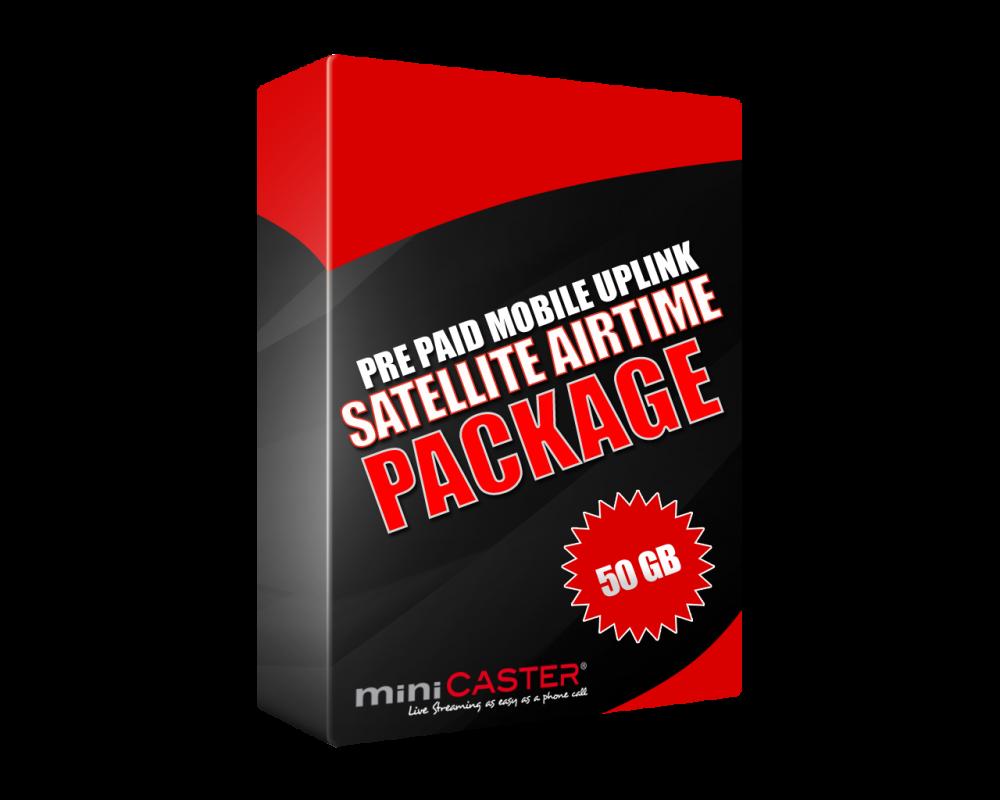 Satellite Airtime 50 GB Prepaid