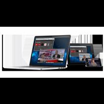 MediaStar Evolution 470 Media Portal Page