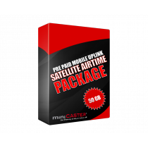 Satellite Airtime 50 GB Prepaid