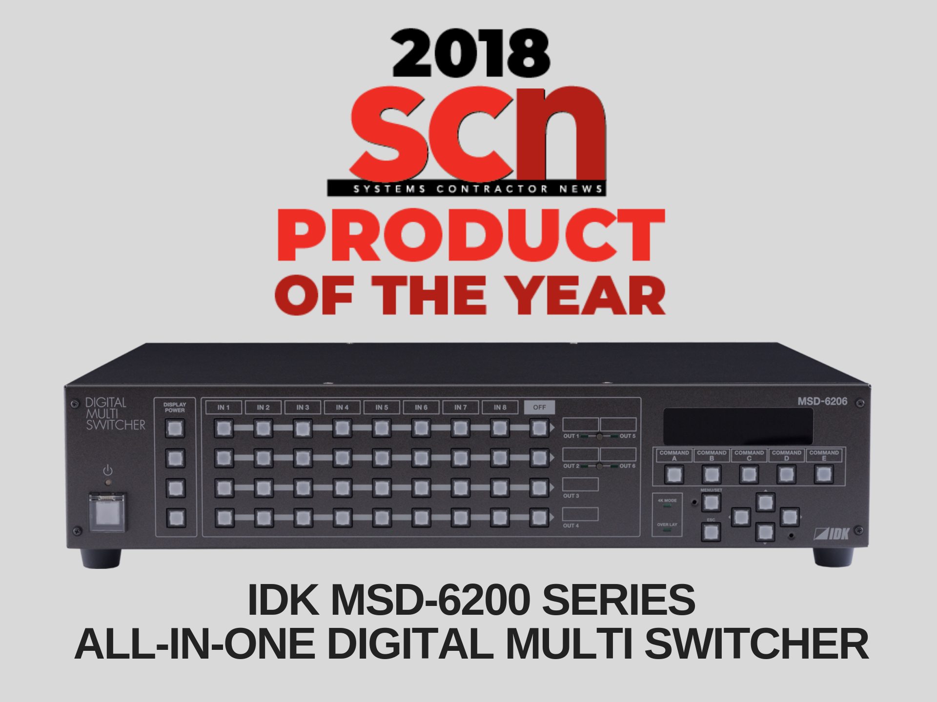Product of the Year 2018