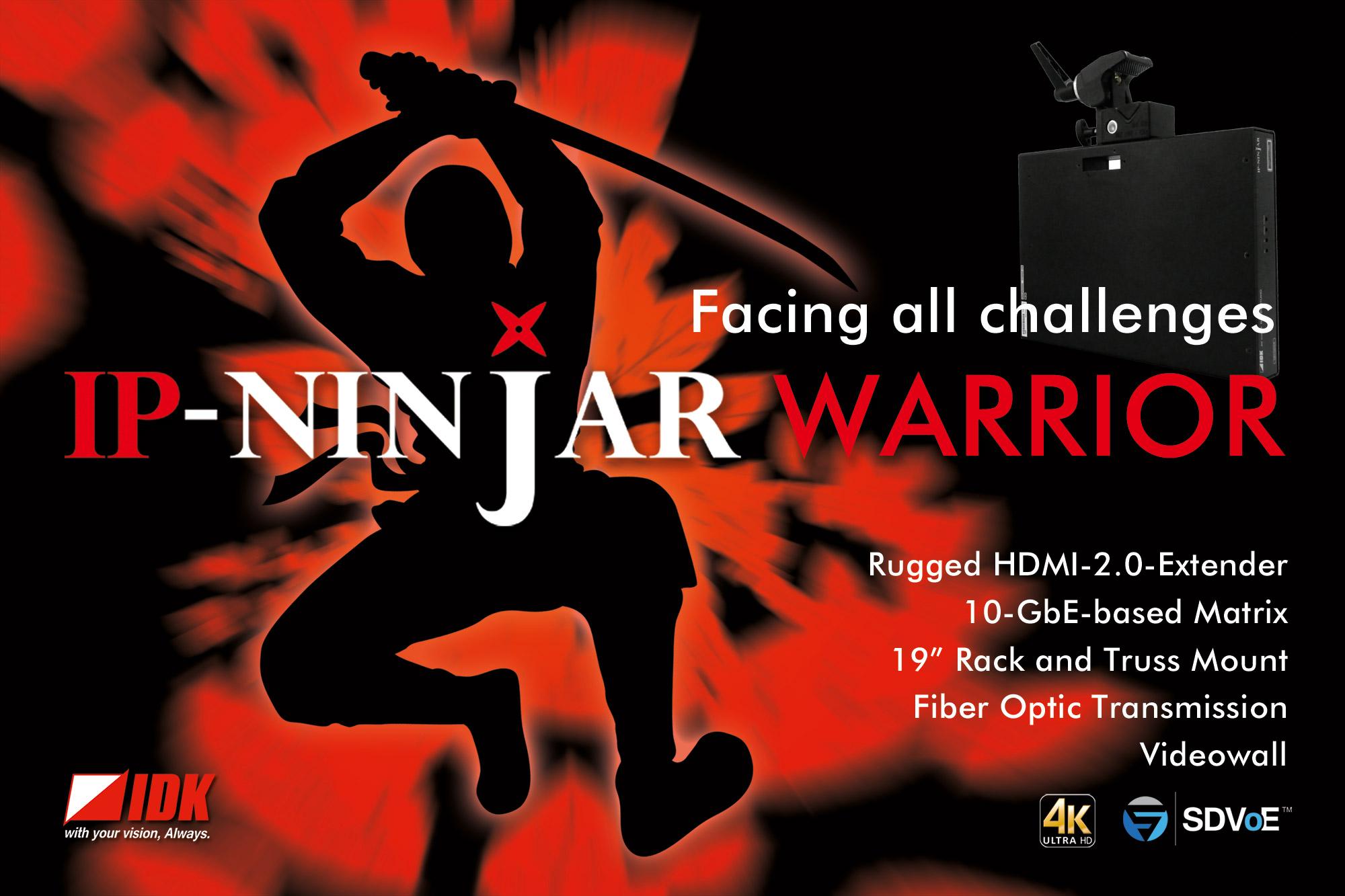 IP-NINJAR WARRIOR – Facing all Challenges