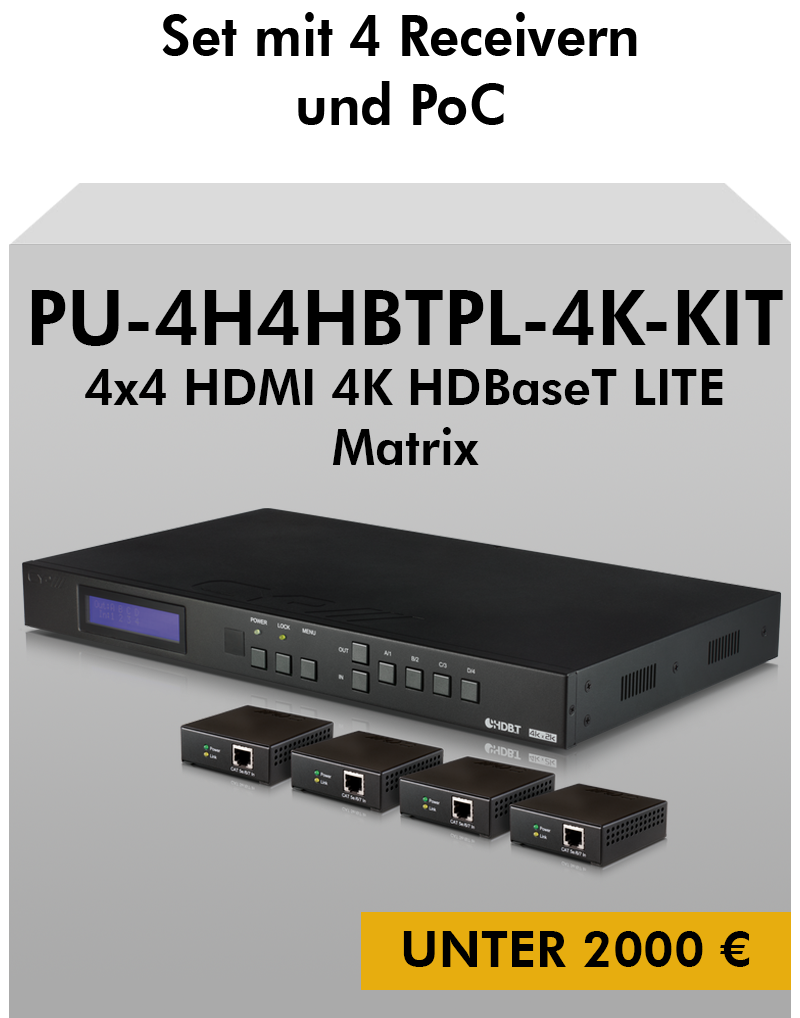 CYP Bundle PU-424HBTL-4K