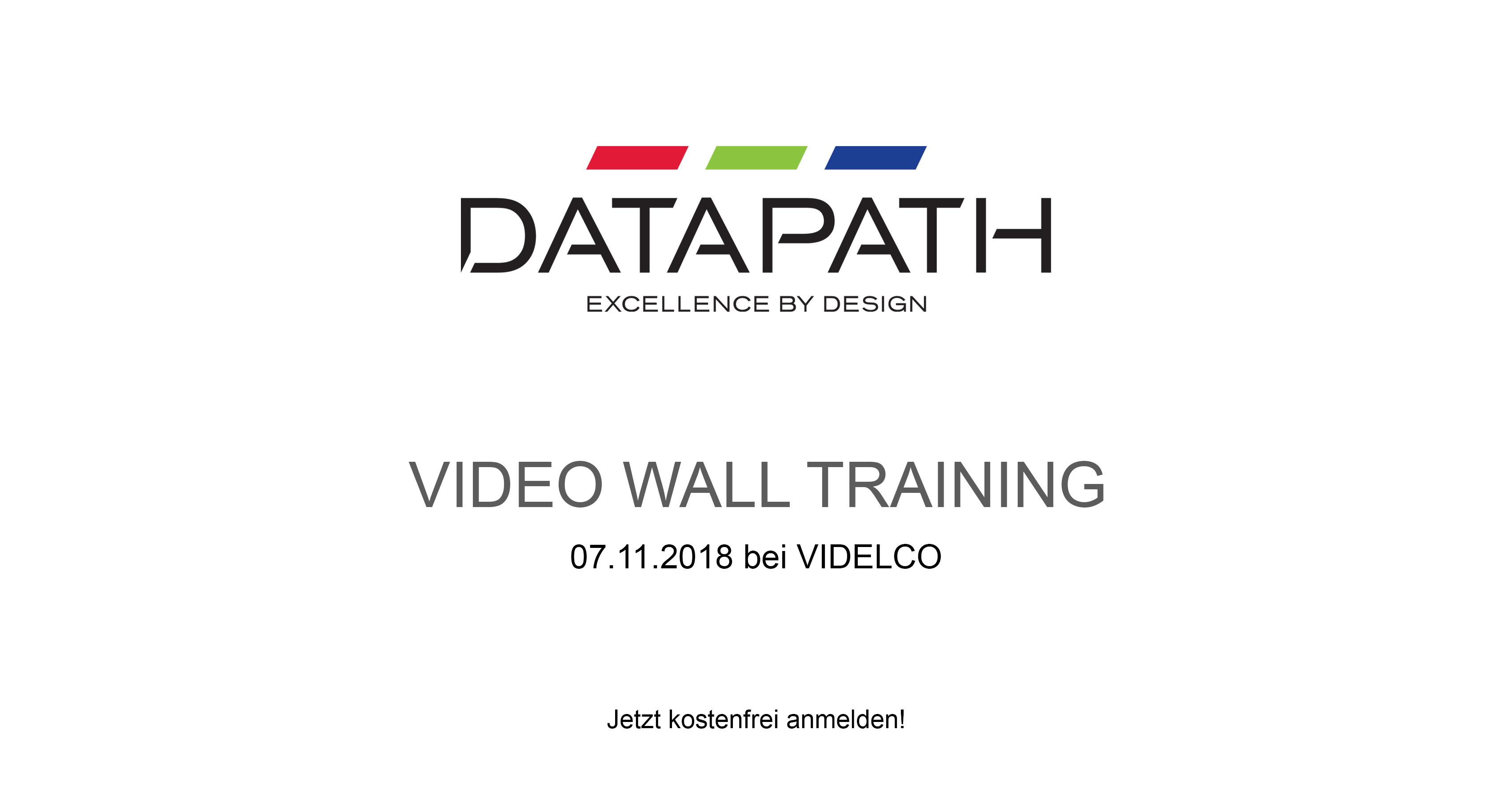 Datapath Videowall-Training